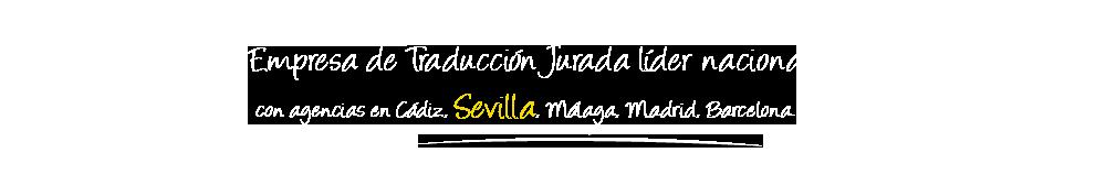 Traductor Jurado Sevilla Logo